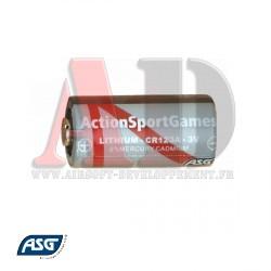Pile - 3V Lithium CR123A