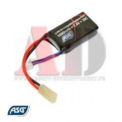 17462 ASG - Batterie LiPo 7,4V 1000Mah 30C