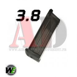 WE - Chargeur Hi-Capa 3.8