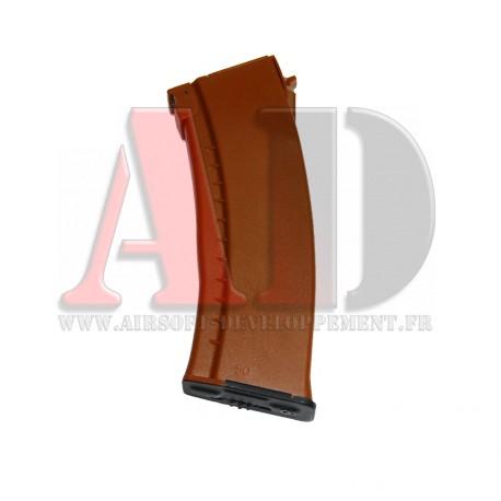 DBOY - Chargeur Hi-Cap AK74 MARRON 500 Billes