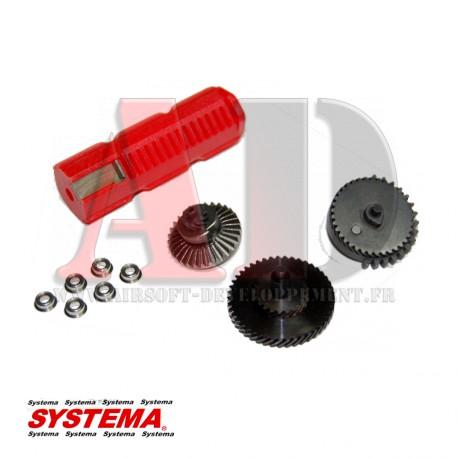 SYSTEMA - Kit pignons hélicoïdales super torque up