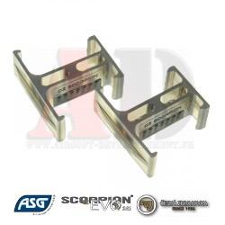 ASG - Coupleur de chargeur - magazine clip - CZ Scorpion EVO 3-A1 - ref: 17850