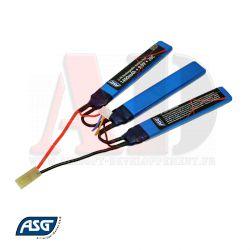 Votre boutique web Airsoft Developpement propose : ASG - Batterie Li-FE - 9,9V 1400Mah 20C - Réf 18207