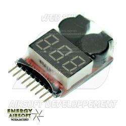 LIPO TESTER ENERGY AIRSOFT - Testeur pour batterie LiPo