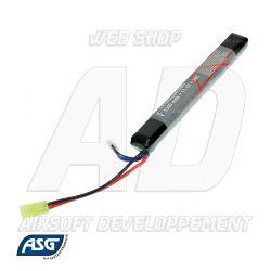 Votre boutique web Airsoft Developpement propose : 18156 ASG - Batterie LiPo 11,1V 1500Mah 20C