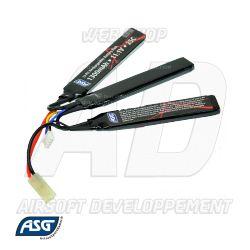 17207 ASG - Batterie LiPo 11,1V 1300Mah 25C (Gen.2)