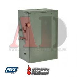 16991 ASG - M60E4, MK43 AEG chargeur ammobox 4000 billes