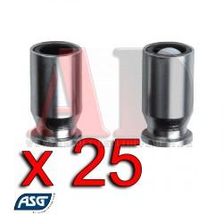 Chargeur gaz - CZ 75 & STI 1911-A1 ,RSS ,25 douilles